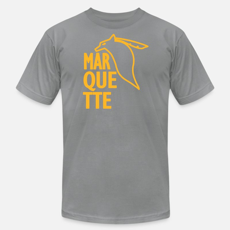 228c9402 Marquette Old School Vintage Warriors Men's Jersey T-Shirt | Spreadshirt
