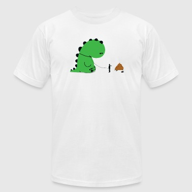 Dino - Dino Shit - Men's Fine Jersey T-Shirt