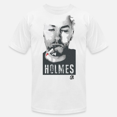Techno Producer HOLMES (w) - Men's  Jersey T-Shirt