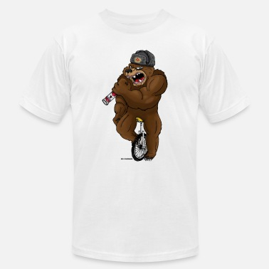 Vodka Russian Russian Bear - Men's  Jersey T-Shirt