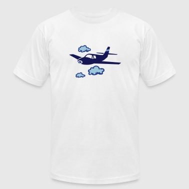 airplane - Men's Fine Jersey T-Shirt