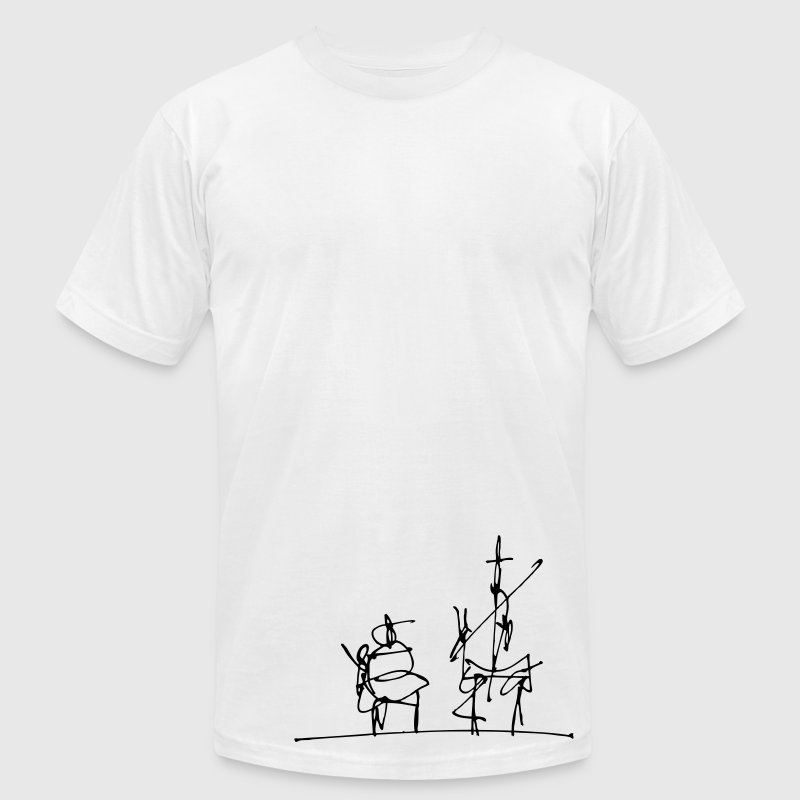 Don Quijote - Men's Fine Jersey T-Shirt