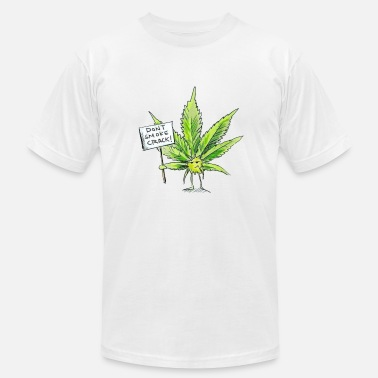 Smoke Crack dont smoke crack - Men's Jersey T-Shirt