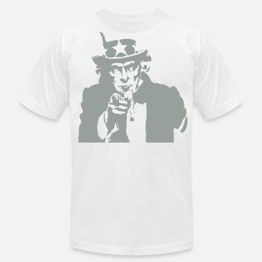 Uncle Sam Wants You American Uncle Sam Wants You  - Men's  Jersey T-Shirt