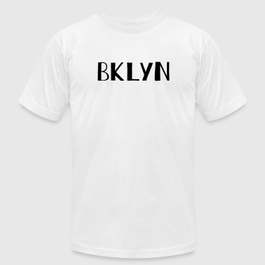Bklyn BKLYN Short For Brooklyn - Men's Fine Jersey T-Shirt