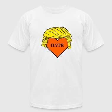 Love Trumps Hate Love Trump's Hate! - Men's Fine Jersey T-Shirt