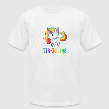 Tia-Joline Unicorn - Men's Fine Jersey T-Shirt