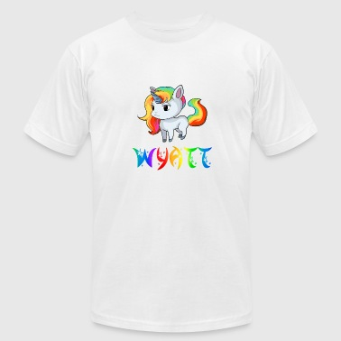 Wyatt Unicorn - Men's Fine Jersey T-Shirt