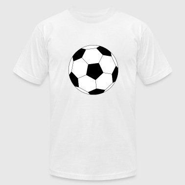 a football for all football players - Men's Fine Jersey T-Shirt