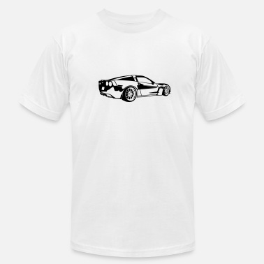 Sportscar Corvette - Men's  Jersey T-Shirt