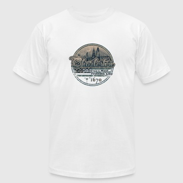 Charleston - Retro - Men's Fine Jersey T-Shirt