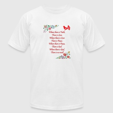 Hungarian Home Blessing in English - Men's Fine Jersey T-Shirt