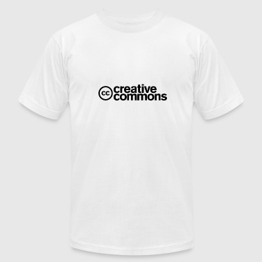 Creative Creative Commons T-shirt - Men - White - Men's Fine Jersey T-Shirt