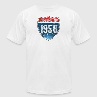 1958 Legend Legend Of 1958 - Men's Fine Jersey T-Shirt