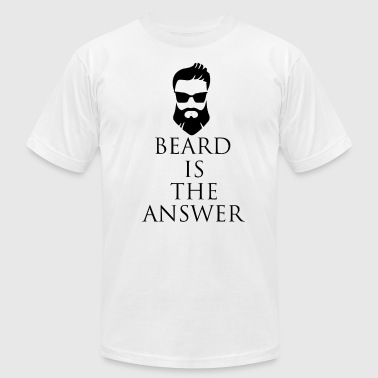 Bear Is The Answer - Men's Fine Jersey T-Shirt