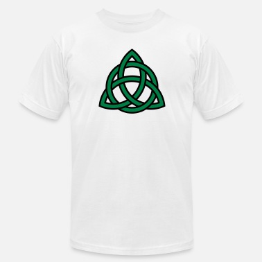 Trinity Irish Trinity Knot Triquetra Celtic Patricks Day - Men's Fine Jersey T-Shirt