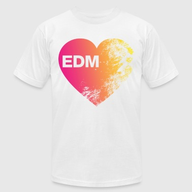 Edm Is Love EDM love - Men's Fine Jersey T-Shirt