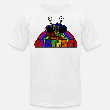 Gay Atheist Gay Rainbow FSM - Men's Jersey T-Shirt