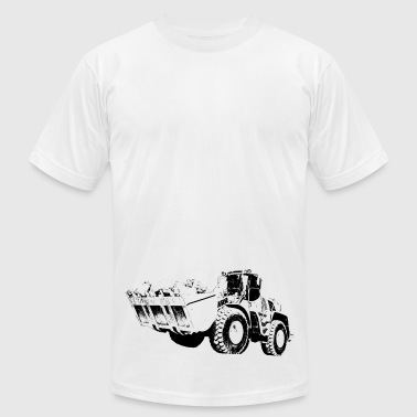 Liebherr wheel loader - Men's Fine Jersey T-Shirt