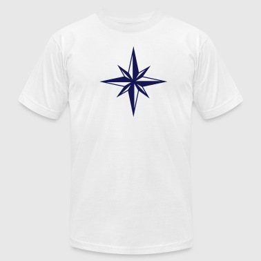Wind Rose Compass - Men's Fine Jersey T-Shirt