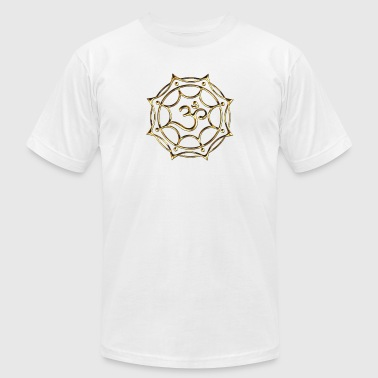 Lightworkers greeting, Kryon, OM,  Spirituality - Men's Fine Jersey T-Shirt