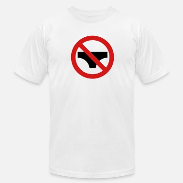 Not Allowed No Underwear Allowed - Men's Fine Jersey T-Shirt