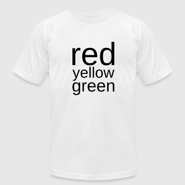 Red Yellow Green red yellow green - Men's Fine Jersey T-Shirt