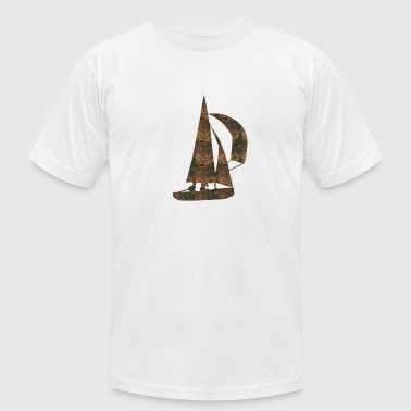 Vela Rust Sailing - Men's Fine Jersey T-Shirt