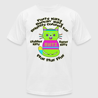 Raver Kitty - Men's Fine Jersey T-Shirt