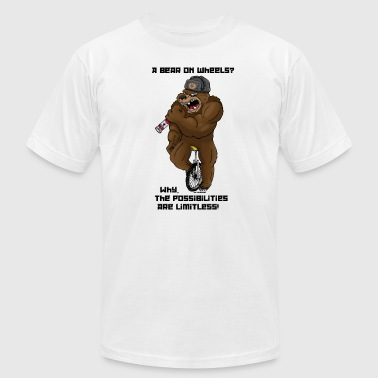 Russian Bear (The Possibilities) - Men's Fine Jersey T-Shirt