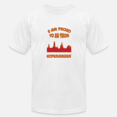 I Love Copenhagen COPENHAGEN I am proud to be from - Men's Fine Jersey T-Shirt