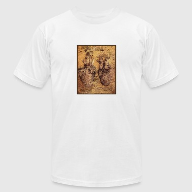 Da vinci heart - Men's Fine Jersey T-Shirt