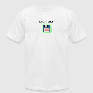 Never forget floppy disk - Men's Fine Jersey T-Shirt