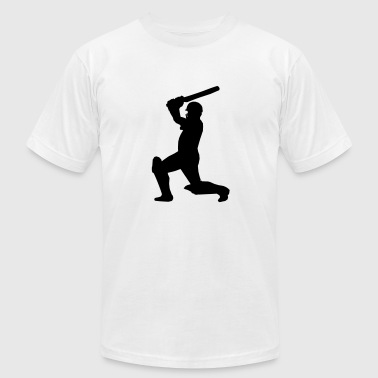 Cricket Player - Men's Fine Jersey T-Shirt