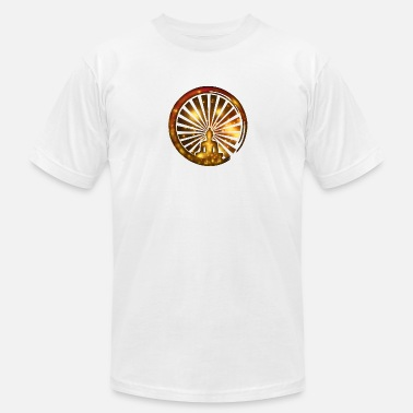 Enso Enso, Zen, meditation, Buddha, Buddhism, Japan - Men's  Jersey T-Shirt
