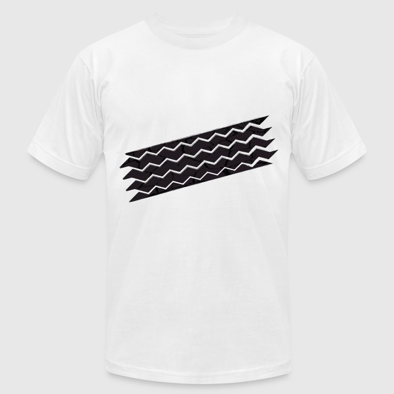 tyre mark - Men's Fine Jersey T-Shirt