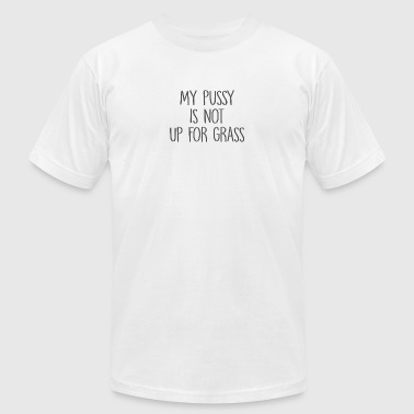 Pussy Nerd My pussy is not up for grabs - Men's Fine Jersey T-Shirt