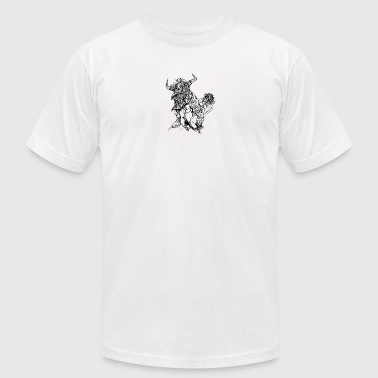 Lion dance - Men's Fine Jersey T-Shirt