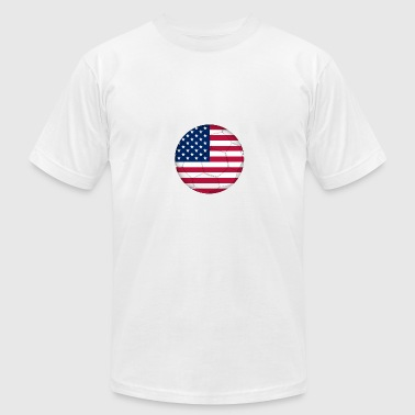 Soccer of the united States of America - Men's Fine Jersey T-Shirt