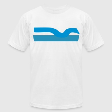 wave - Men's Fine Jersey T-Shirt