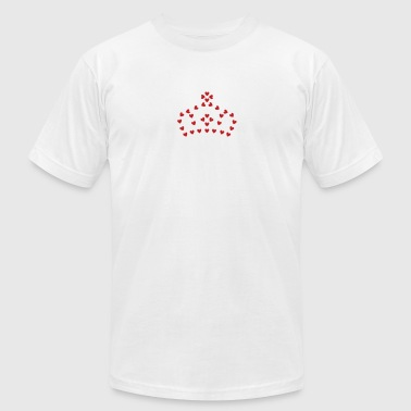 Crown_of_Hearts_cc4 - Men's Fine Jersey T-Shirt