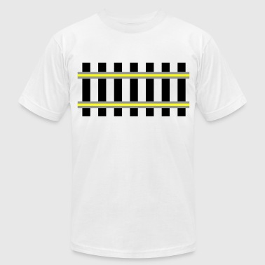 railway - Men's Fine Jersey T-Shirt