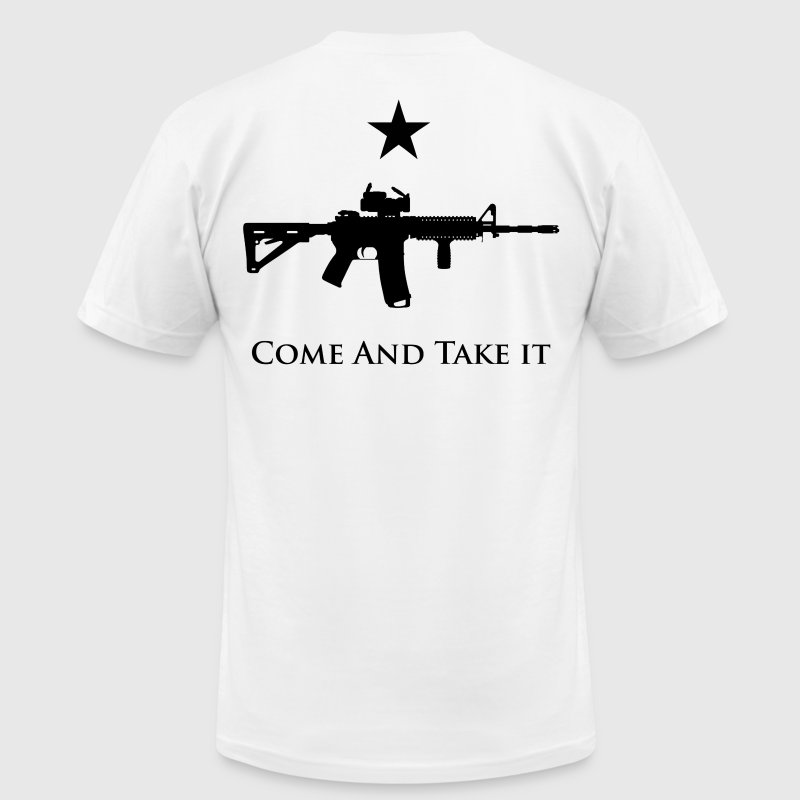 Come And Take It - Men's Fine Jersey T-Shirt