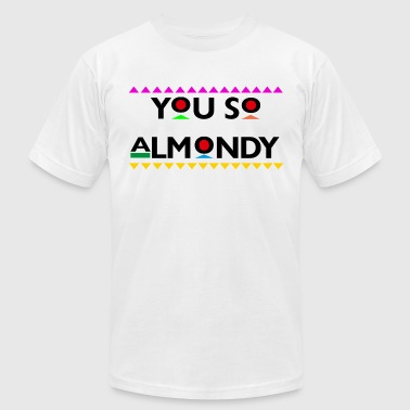 Hey Almond - Men's Fine Jersey T-Shirt