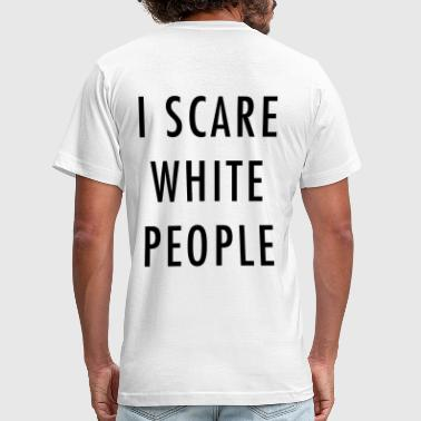 I scare white people - Men's Fine Jersey T-Shirt