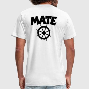 Chief Mate Mate Wheel - Men's Fine Jersey T-Shirt