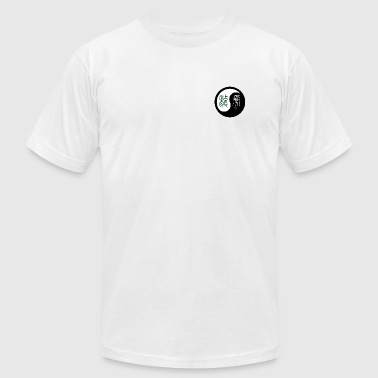 Yin Yang Dragon Tiger - Men's Fine Jersey T-Shirt