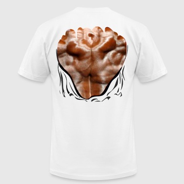 Back Muscles-Ripped Shirt - Men's Fine Jersey T-Shirt