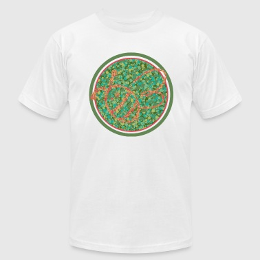 Color Blind Color Challenged - Men's Fine Jersey T-Shirt