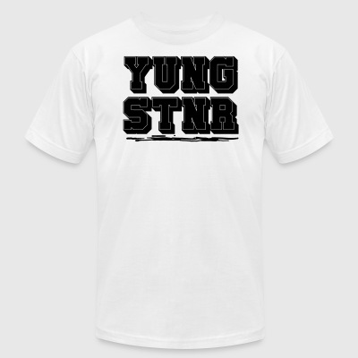 Young Stunner - Men's T-Shirt by American Apparel